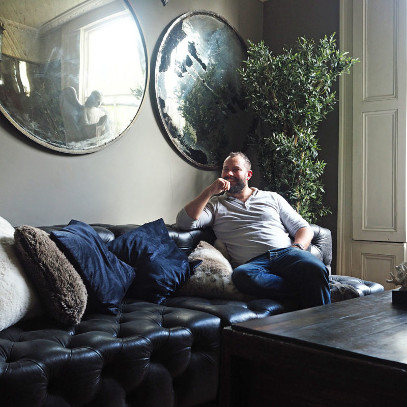 Matt at home