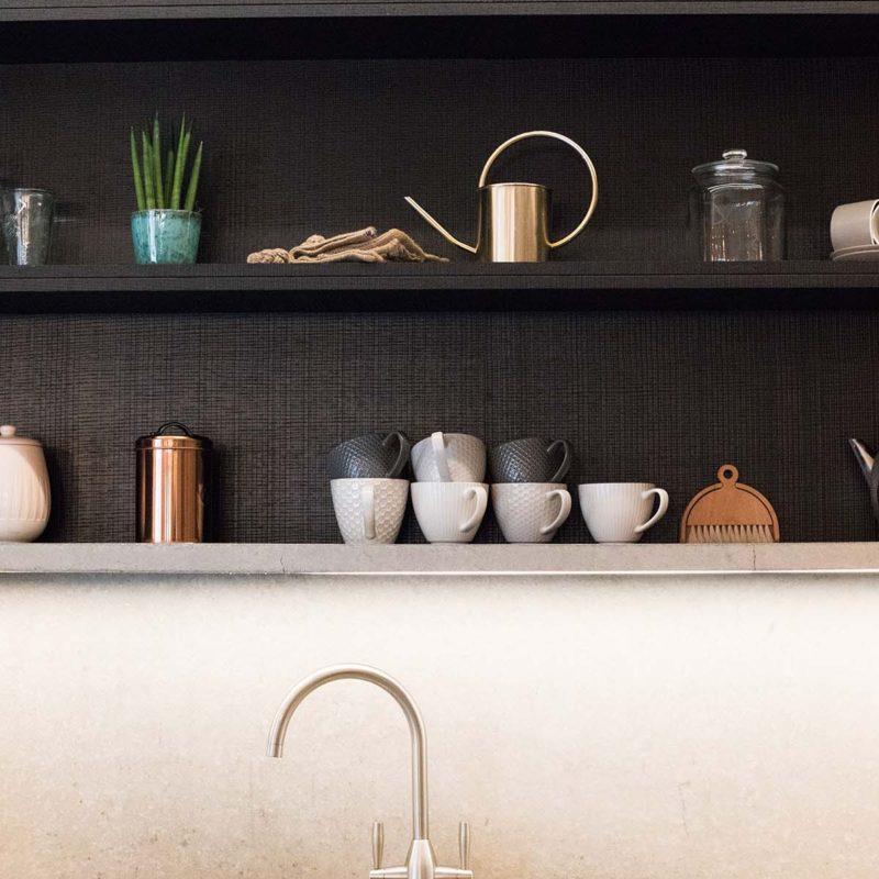 Tom Raffield kitchen space