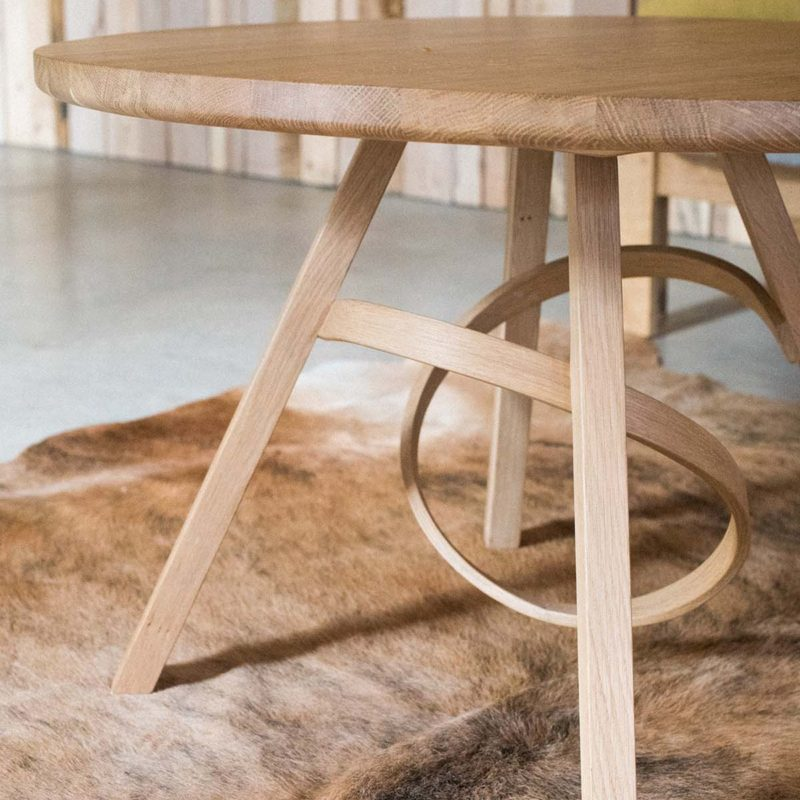 Tom Raffield steam bended table