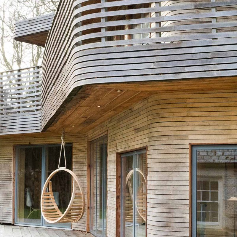 Tom Raffield house exterior