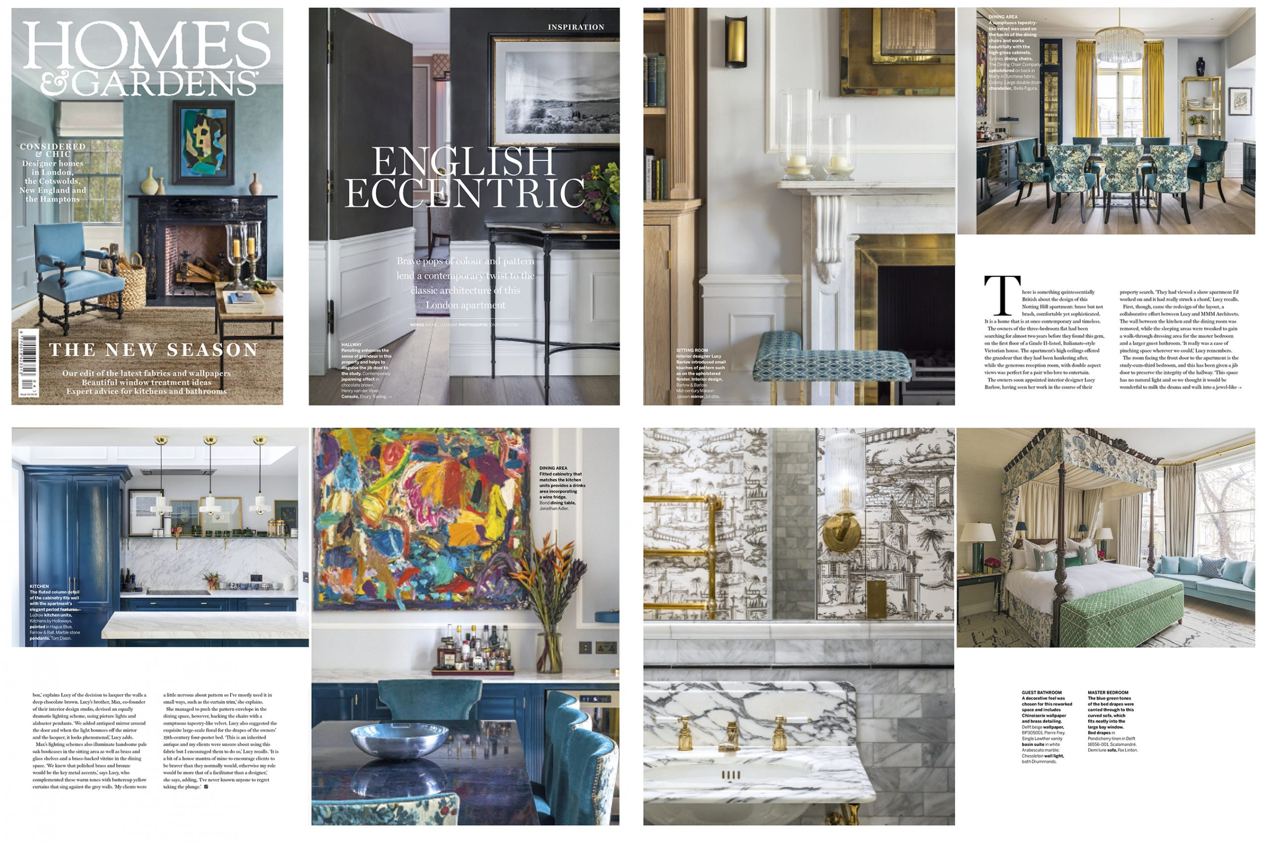 Homes and Gardens April 19