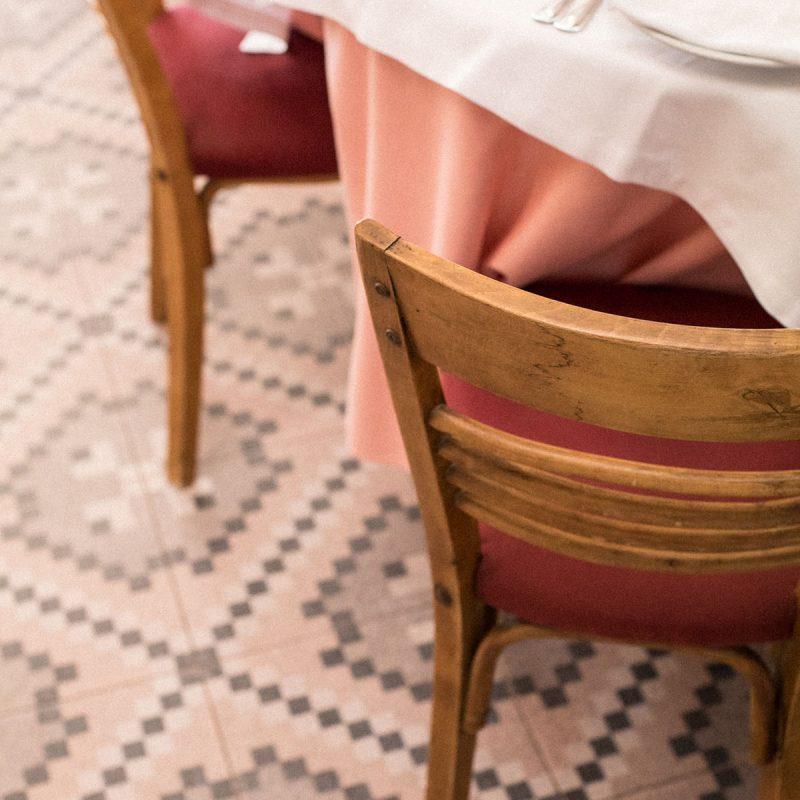 table setting La Pepica Valencia Photograph by Alicia Waite